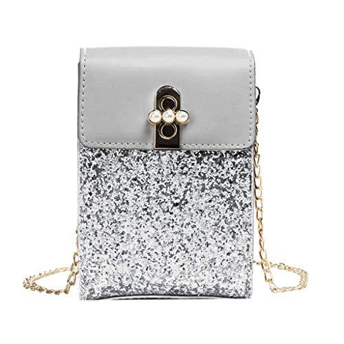 XNBZW Damenmode Einfarbig Umhängetasche Umhängetasche Handytasche Handtasche Klein Satteltasche Umhängetasche Mädchen Tasche