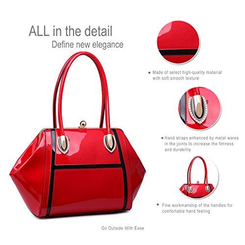 Alta Calidad Del Envío Miss Lulu - Sacchetto donna 6618 Red La Mejor Venta Precio Barato Más Barato En Línea JD8owt3Wz
