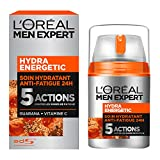 L'Oréal Men Expert Hydra Energetic Soin Hydratant Anti-Fatigue Visage...