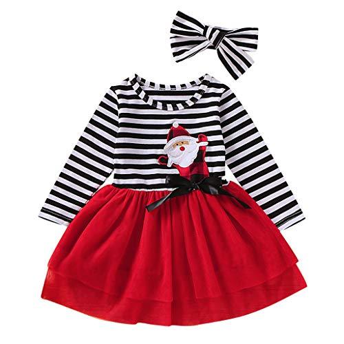 Kleinkind Mädchen Weihnachts Outfits - DEKO bobo4818 Weihnachten Kostüm Kleinkind Baby
