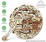 UGEARS mechanisches Monowheel 3D Puzzle Kit | Bewegliches Einrad Holzpuzzle Bastelset und Denkaufgabe für Erwachsene | DIY Puzzle Lernspielzeug und Holzbausatz für Kinder