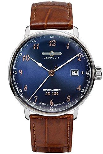 Zeppelin Mens Wrist Watch LZ129 Hindenburg Ed. 1 7048-3