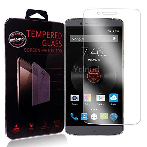 Ycloud Panzerglas Folie Schutzfolie Bildschirmschutzfolie für Elephone P8000 Screen Protector mit Härtegrad 9H, 0,26mm Ultra-Dünn, Abger&ete Kanten