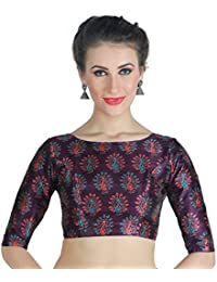 1422f81a583c3 Amazon.in  Purples - Blouses   Ethnic Wear  Clothing   Accessories