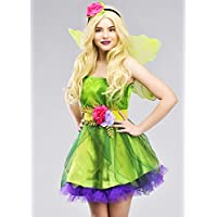 MAGICBOX Costume di NINFA Verde Fata Foresta Taglia Adulto Large (UK 16-18) 6807b4944915