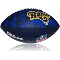 Wilson Football NFL Junior St. Louis Rams Logo, Mehrfarbig, 5, WL0206584040