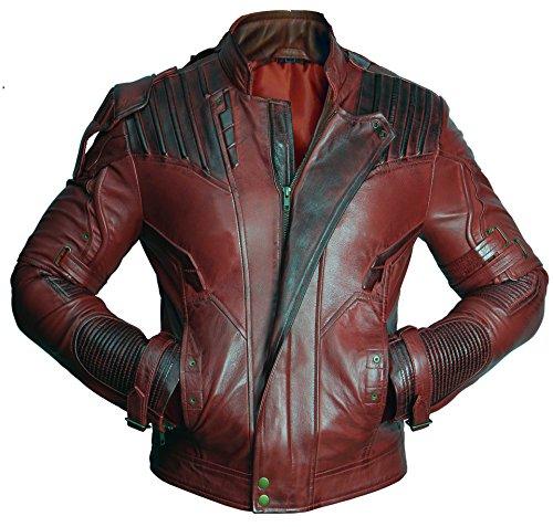 Superior Leather Garments - Blouson - Duffle coat - Homme - rouge - XX-Large