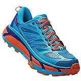 HOKA ONE One Mafate Speed 2 Scarpe Sport Donne Blu/Turquoise/Arancio - 41 1/3 - Running/Trail