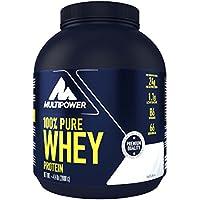 Preisvergleich für Multipower 100% Pure Whey Protein, lösliches Whey Proteinpulver ohne Aspartam und Gluten, enthält essentielle...