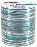 Prasent 50 m Rayon Pearl Spool Ribbon, Turquoise/ Multi-Colour
