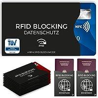 RFID-/NFC-Schutzhülle für Kreditkarte (12 x), Debitkarte, Personalausweis