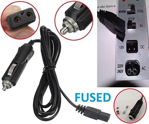 e Power Plug MI-Box Zigarettenanzünder 12 Volt Auto Stecker Mini Kühlschrank Kühler Abgesichertes Kabel Power 12 Volt Auto Coo