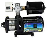 #9: Skyline 0.8 HP SS HCM Water Pressure Booster Pump Tank Type (Black)
