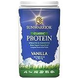 SUNWARRIOR Natürliches Reisprotein Vanille, 1er Pack (1 x 1000 g)