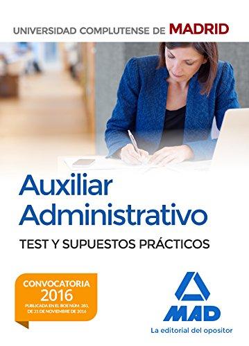 auxiliar-administrativo-de-la-universidad-complutense-de-madrid-test-y-supuestos-prcticos