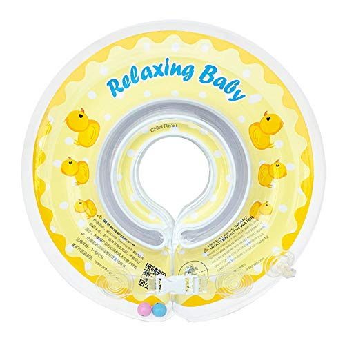 Grist CC Baby-Schwimmring, Baby-aufblasbarer Sitz, tragbare sichere PVC-Schwimmhilfe für 1-6 Jahre Baby