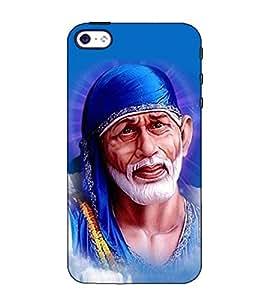 Fuson Designer Back Case Cover for Apple iPhone 4S (Shirdi Ke Saibaba theme)