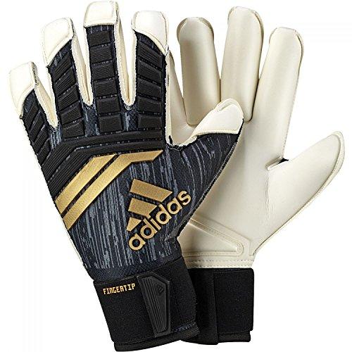 adidas Herren Torwarthandschuhe Predator Fingertip black/solar red/copper gold 8