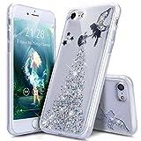 Coque iPhone 8 Etui,Coque iPhone 7,ikasus Bling Glitter Sparkle Brillant Étoile...
