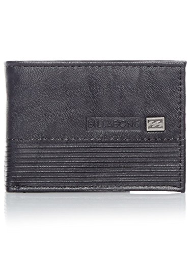 Billabong Vacant, Bolsa y Cartera para Hombre, Negro (Black), 1x1x1 cm (W x H x L)