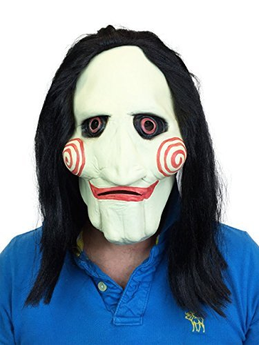 Marionette Sah Style Latex Maske Halloween Film Horror Kostüm