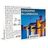 smartbox - Cofanetto Regalo - Soggiorno in Lombardia - Idee Regalo - 1, 2 o 3 Notti con Colazione e 1 Cena o 1 Esperienza Benessere per 2 Persone