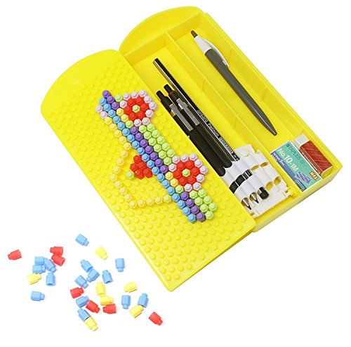 Fully Puzzle Geometry Box Best Gift for Kids, 30 Grams, Pack of 1 (Yellow)