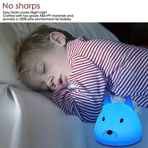 + ViViSun Luce Nottura – LED Lampada Animale per Bambini Letto Bambino, Adulti Camera da letto (Cane) recensioni dei consumatori