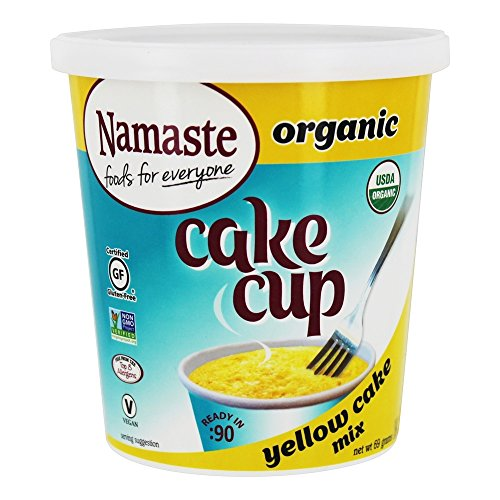 6ebe4d2344 Namaste Foods - Organic Cake Cup Yellow Cake Mix - 1 Tazas