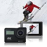 4K Action Camera WiFi HD Waterproof Sport Camera 2 inch LCD Screen 16MP 170 Degree Wide Angle 2 Rech Udivape