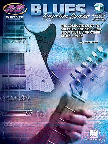 Blues Rhythm Gtr Tab Bk/CD (Master Class) por Keith Wyatt
