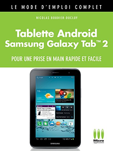 MOD.EMPL.COMP.£TABLETTE ANDROID GALAXY TAB 2