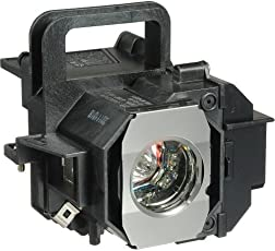 Electrified V13H010L49 Replacement Lamp with Housing for ELPLP49 Epson Products