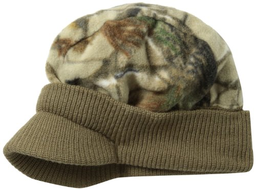 1b44627ea57 Quietwear 0033977782617 Mens Fleece Hunting Hat All Purpose Grey One Size-  Price in India