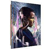 Feeby. Tableau - 1 partie - 70x100 cm, Décoration Murale Image Imprimée Deco Panel, Stranger Things - Dmitry Belov, FILM, HORREUR, MARINE