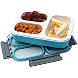 Meenamart BN21 Leakproof 2 Compartment Lunch (Transperent)