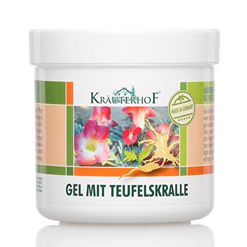Asam Kräuterhof Gel de soin et de massage aux extraits de griffe du diable,...