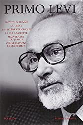 Primo Levi - Oeuvres - Bouquins