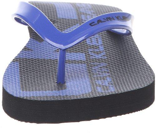Calvin Klein Jeans Smith, Tongs homme Bleu électrique