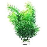 Justdolife Künstliche Wasserpflanze Mini Gefälschte Baum Dekorative Gefälschte Pflanze für Aquarium