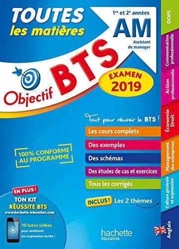 Objectif BTS AM 2019 Toutes les matières par Collectif