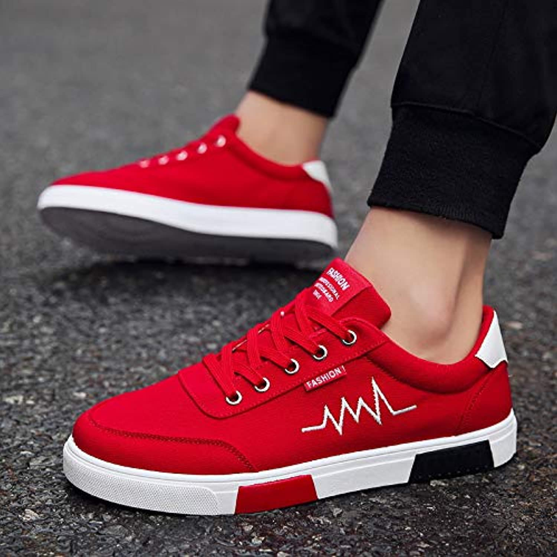 39174c12a43d54 NANXIEHO Student scarpe da ginnastica Uomo Canvas Canvas Canvas scarpe  Trend Traspirante per il tempo libero
