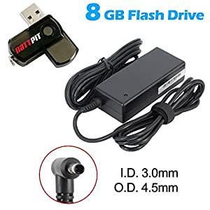 Battpit Ordinateur portable AC Adaptateurs Secteur / Chargeur Pour HP 709985-001 Avec lecteur Flash USB 8GO GRATUIT