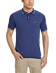 Blackberrys Mens Polo (8907196430289_TSAARONNYBM16BTX40_40_Royal Blue)
