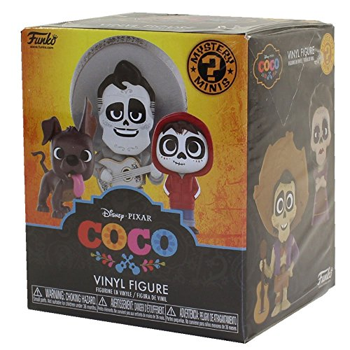 Funko Mystery Mini: Disney Pixar, Coco, A Random Vinyl Figure, Assorted (22883)