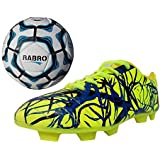 Port Unisex PU Combo Pack Of Soccer Ball And Soccer,Cleats,Football Shoes(Ball Free)