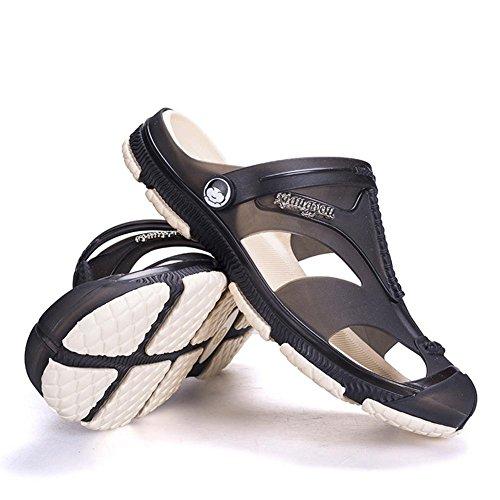 Super weiche Sandalen Herren Sommer waten Schuhe atmungsaktiv und rutschfest Black