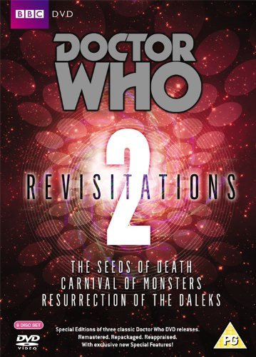 Revisitation 2: The Seeds of Death / Carnival of Monsters / Resurrection of the Daleks (6 DVDs)