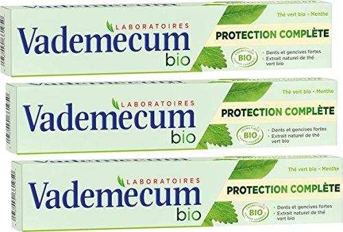 Vademecum - Dentifrice - Bio Protection Complète - Tube 75 ml - Lot de 3