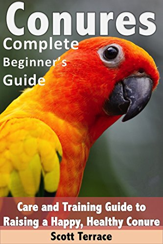 Conures: Complete Beginner's Guide: Care and Training Guide to Raising a Happy, and Healthy Conure (English Edition)